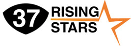 Logo for 37 Rising Stars